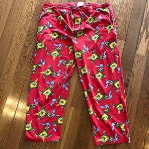 Kellogg's Honey Smack Cereal Pajamas PJs Large